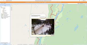 интерактивная карта дорог АО