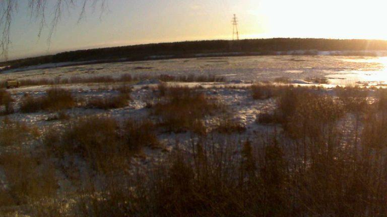 Есть ли сегодня переправа через реку Пинега в Паленьге?