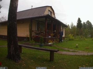 фото с GSM-камеры Kubik - дачный участок